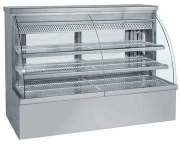 Εικόνα της Ψυγείο Βιτρίνα Ζαχαροπλαστείου 1.48 m