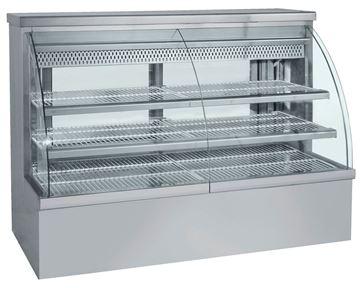 Εικόνα της Ψυγείο Βιτρίνα Ζαχαροπλαστείου 1.98 m