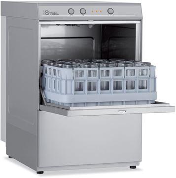 Εικόνα της Πλυντήριο Ποτηριών COLGED με καλάθι 40x40 cm, Steel Tech 14-00