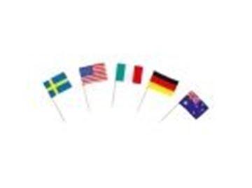 Εικόνα της «Σημαιάκια» διαφόρων χωρών 144 τεμ