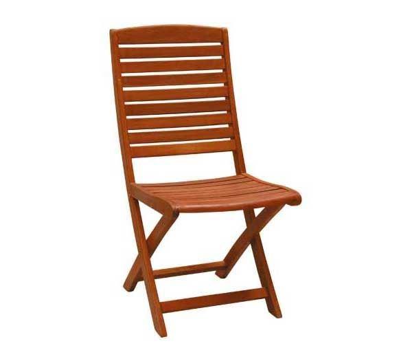 Εικόνα της Καρέκλα Πτυσσόμενη Καρέκλα Ξύλινη SPOT, συσκευασία 2 τεμαχίων