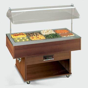 Εικόνα της Salad Bar – Μπουφές Delizie BM Θερμαινόμενο