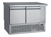 Εικόνα της Ψυγείο Πάγκος Συντήρηση με 2 πόρτες GN με ψυκτικό μηχάνημα κάτω 1.10 m