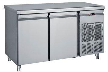 Εικόνα της Ψυγείο Πάγκος Συντήρηση με 2 πόρτες μεγάλες με ψυκτικό μηχάνημα 1.55 m