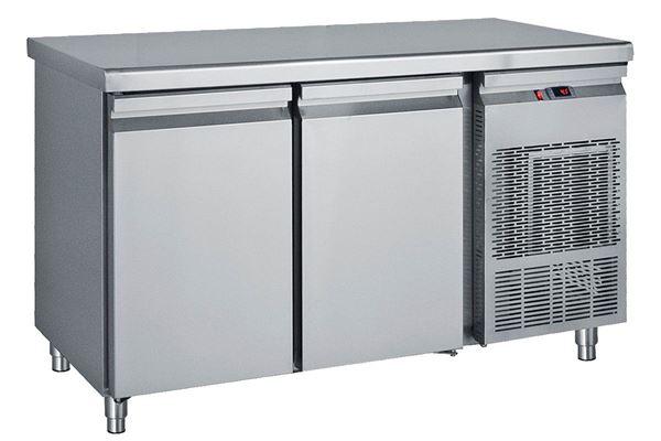 Εικόνα της Ψυγείο Πάγκος Κατάψυξη με 2 πόρτες GN με ψυκτικό μηχάνημα 1.39 m