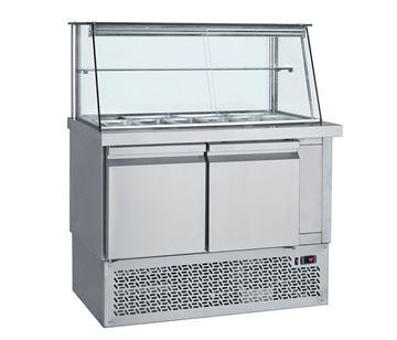 Εικόνα της Ψυγείο Βιτρίνα Σαλατών 1.10 m