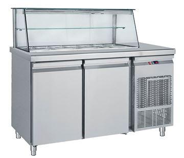 Εικόνα της Ψυγείο Βιτρίνα Σαλατών με πάσο 1.55 m