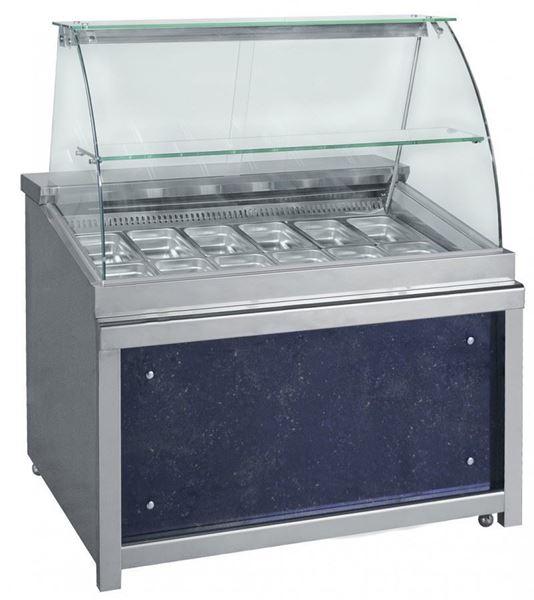Εικόνα της Ψυγείο Βιτρίνα Σαλατών Σειρά Frost 1.80 m