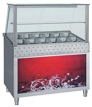 Εικόνα της Ψυγείο Βιτρίνα Σαλατών Σειρά BF 1.38 m