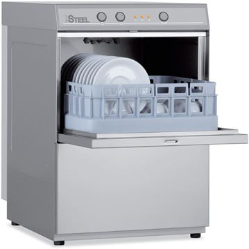 Εικόνα της Πλυντήριο Ποτηριών COLGED με καλάθι 35x35 cm, Steel Tech 13-00