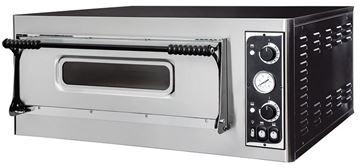 Εικόνα της Φούρνος Πίτσας Ηλεκτρικός BASIC XL 6 PRISMA FOOD, 1 όροφος για 6 πίτσες φ35 εκ