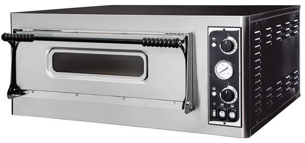 Εικόνα της Φούρνος Πίτσας Ηλεκτρικός BASIC XL 6L PRISMA FOOD, 1 όροφος για 6 πίτσες φ35 εκ