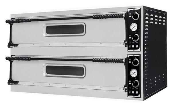 Εικόνα της Φούρνος Πίτσας Ηλεκτρικός BASIC XL 99 PRISMA FOOD, 2 όροφοι για 9+9 πίτσες φ35 εκ