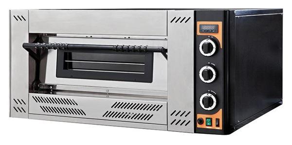 Εικόνα της Φούρνος Πίτσας Υγραερίου GAS 6 PRISMA FOOD, 1 όροφος για 6 πίτσες φ30 εκ