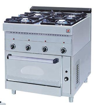 Εικόνα της Κουζίνα Υγραερίου 4 Εστιών και Φούρνος F GAS E4, North
