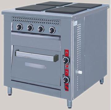 Εικόνα της Κουζίνα Ηλεκτρική 4 Εστιών και Φούρνος F80 E4, North