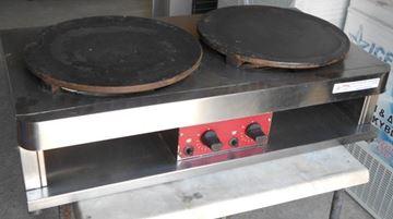 Εικόνα της Κρεπίερα υγραερίου διπλή 2x40cm FABA