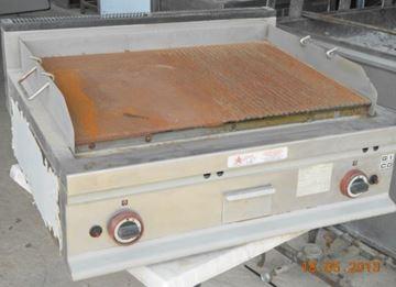 Εικόνα της Πλατώ Υγραερίου επιτραπέζιο, Μισό Ίσιο-Μισό Ραβδωτό GICO