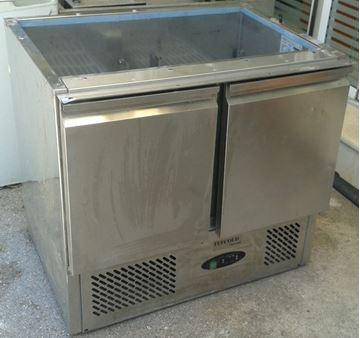 Εικόνα της Ψυγείο saladette με ψυκτικό μηχάνημα 90 cm