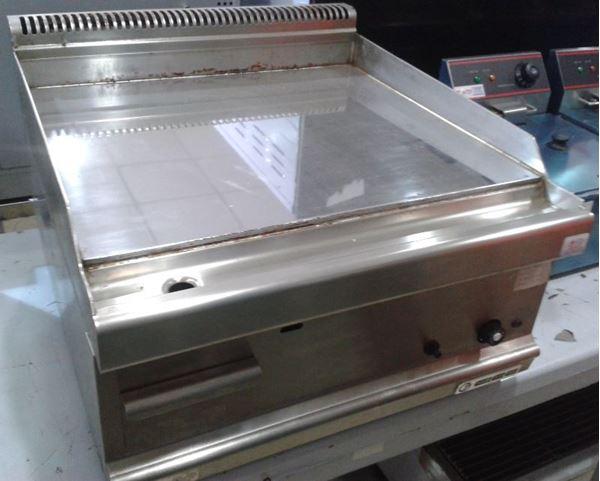 Εικόνα της Πλατώ υγραερίου επιτραπέζιο με πλάκα χρωμιωμένη 60x65