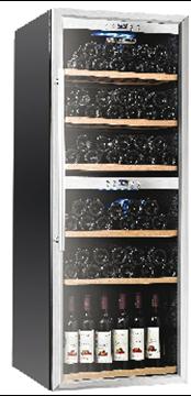 Εικόνα της Βιτρίνα κρασιών επιδαπέδια TECFRIGO για 126 μπουκάλια