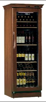Εικόνα της Βιτρίνα κρασιών επιδαπέδια TECFRIGO για 106 μπουκάλια