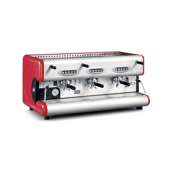 Εικόνα της Μηχανή Espresso Ηλεκτρονική με 3 Groups LA SAN MARCO