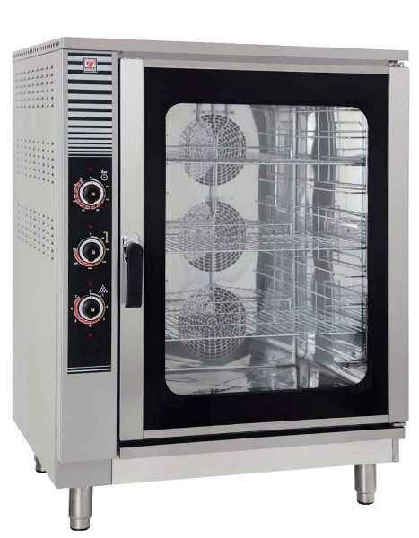 Εικόνα της Φούρνος αέρος ηλεκτρικός EF 900 για 10 ταψιά 1/1 GN, North