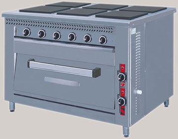 Εικόνα της Κουζίνα Ηλεκτρική 6 Εστιών και Φούρνος F80 E6, North