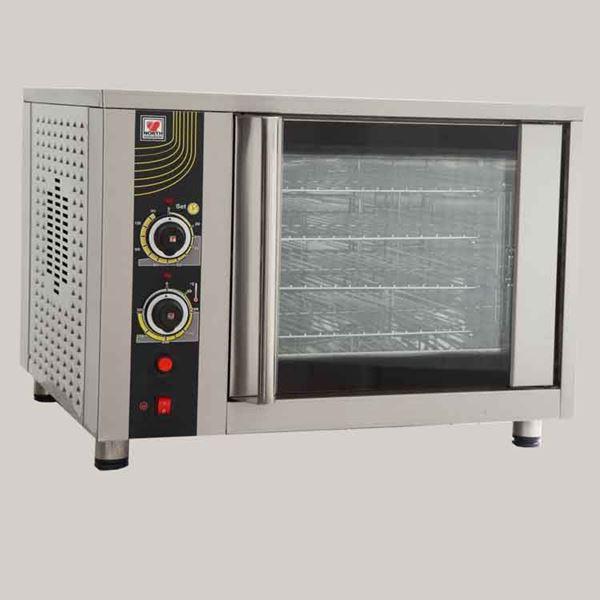 Εικόνα της Φούρνος αέρος ηλεκτρικός FD 62, για 4 ταψιά GN 1/1 ή 4 λαμαρίνες 40x60 cm, North