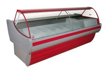Εικόνα της Βιτρίνα ψυγείο αλλαντικών-τυροκομικών με τυριέρα ΔΙΑΣ