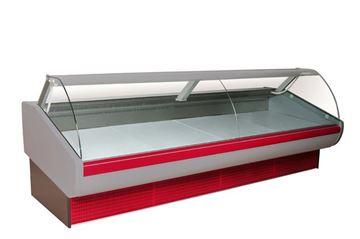 Εικόνα της Βιτρίνα ψυγείο αλλαντικών-τυροκομικών–κρεάτων με αμορτισέρ ΑΠΟΛΛΩΝ