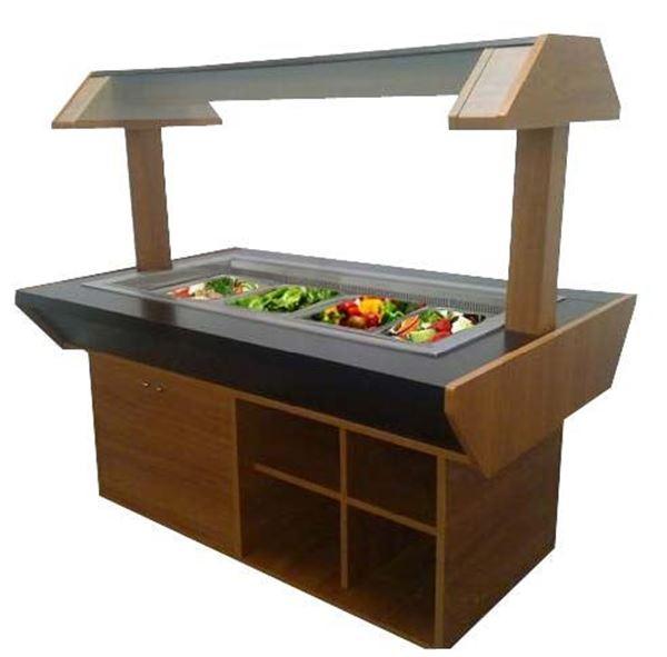 Εικόνα της Salad Bar – Μπουφές DUDGET Θερμαινόμενος
