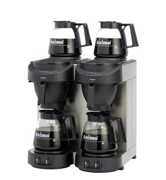 Εικόνα της Μηχανή καφέ φίλτρου διπλή ANIMO M 102, για 224 φλυτζάνια/ 28lt
