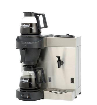 Εικόνα της Μηχανή καφέ φίλτρου με ζεστό νερό ANIMO M 200W, για 112 φλυτζάνια/ 14lt καφέ & 128 φλυτζάνια/ 16lt νερό