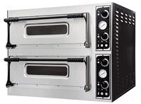 Εικόνα της Φούρνος Πίτσας Ηλεκτρικός BASIC MEDIUM 44 PRISMA FOOD, 2 όροφοι για 4+4 πίτσες φ32 cm