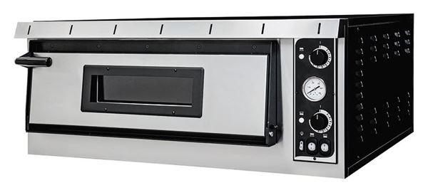 Εικόνα της Φούρνος Πίτσας Ηλεκτρικός PLUS XL 6 PRISMA FOOD, 1 όροφος για 6 πίτσες φ35 cm