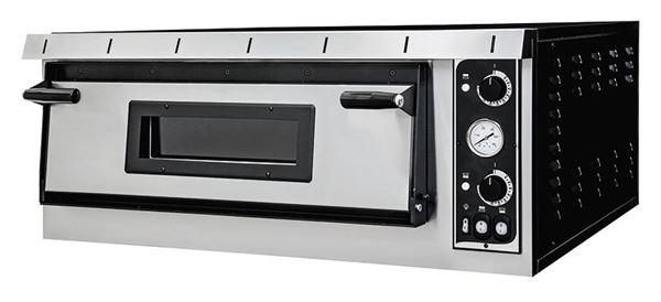Εικόνα της Φούρνος Πίτσας Ηλεκτρικός PLUS XL 9 PRISMA FOOD, 1 όροφος για 9 πίτσες φ35 cm