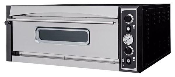 Εικόνα της Φούρνος Πίτσας Ηλεκτρικός SUPERIOR XL 6L PRISMA FOOD, 1 όροφος για 6 πίτσες φ35 cm