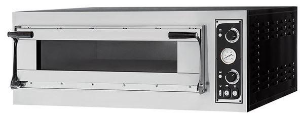 Εικόνα της Φούρνος Πίτσας Ηλεκτρικός TRAYS 6 GLASS PRISMA FOOD, 1 όροφος για 6 πίτσες φ35 cm