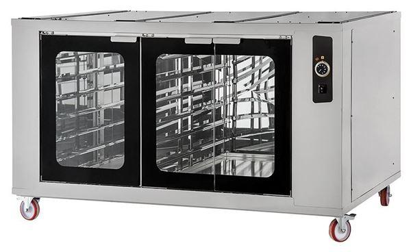 Εικόνα της Στόφα φούρνου - Θερμοθάλαμος CELLA INOX XL 6L-66L PRISMA FOOD, για 18 λαμαρίνες 60x40
