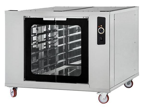 Εικόνα της Στόφα φούρνου - Θερμοθαλαμος CELLA INOX 4-44 PRISMA FOOD, για 12 λαμαρίνες 60x40