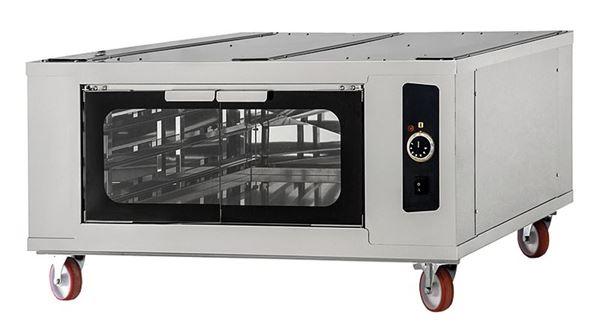 Εικόνα της Στόφα φούρνου - Θερμοθάλαμος CELLA INOX 4-4-4 PRISMA FOOD, για 6 λαμαρίνες 60x40