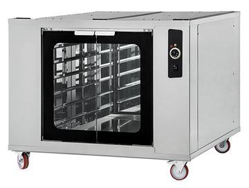 Εικόνα της Στόφα φούρνου - Θερμοθάλαμος CELLA INOX 6-66 PRISMA FOOD, για 12 λαμαρίνες 60x40