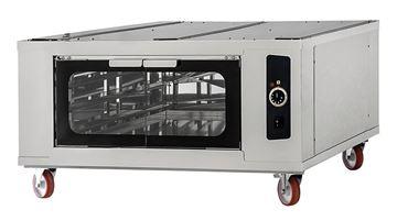Εικόνα της Στόφα φούρνου - Θερμοθάλαμος CELLA INOX 6-6-6 PRISMA FOOD, για 6 λαμαρίνες 60x40