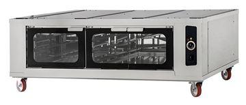 Εικόνα της Στόφα φούρνου - Θερμοθάλαμος CELLA INOX 6L-6L-6L PRISMA FOOD, για 9 λαμαρίνες 60x40