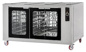 Εικόνα της Στόφα φούρνου - Θερμοθάλαμος CELLA INOX 9-99 PRISMA FOOD, για 18 λαμαρίνες 60x40