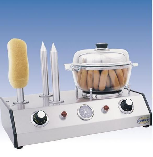 Εικόνα της Μηχανή Hot - Dog Ατμού JOHNY