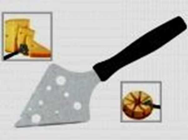 Εικόνα της Κόπτης τρίγωνος μαλακού τυριού 20,5 cm