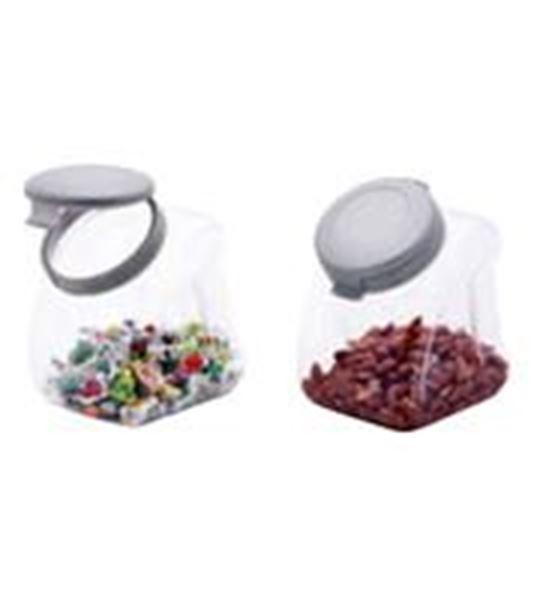 Εικόνα της Δοχείο πλαστικό με καπάκι 2,5 lt